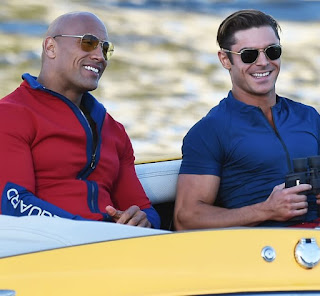 The Rock Dwayne Johnson and Zac Efron