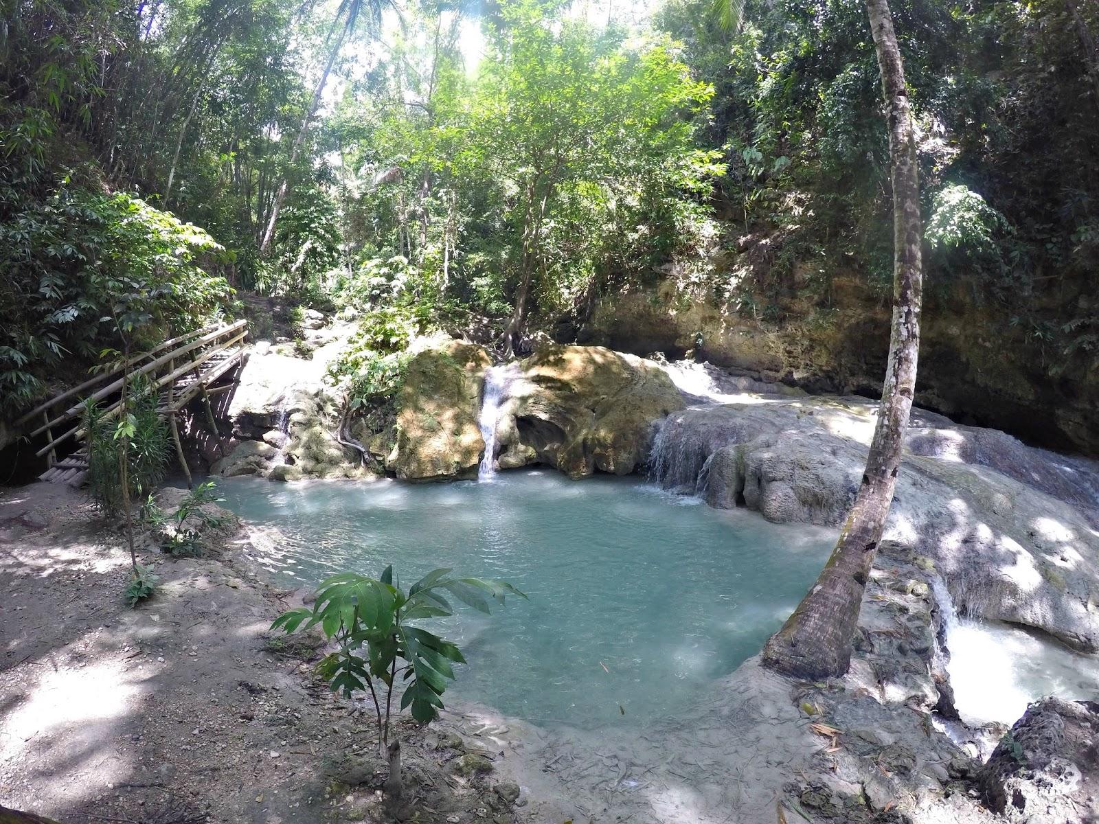 Aguinid falls in Samboan Cebu Philippines