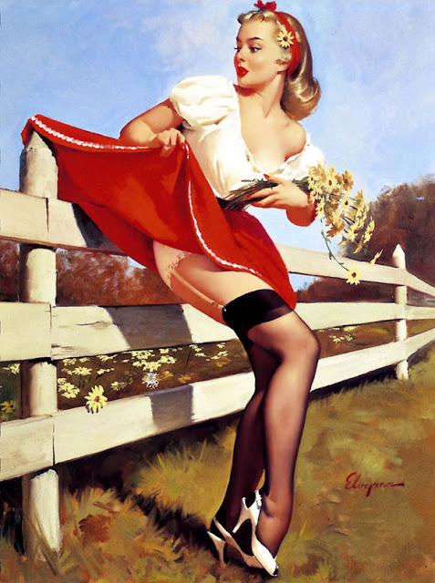 Vintage Paintings of Beautiful Woman's 23