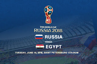 Russia vs Egypt Live Streaming online Today 19.06.2018 World Cup Russia 2018