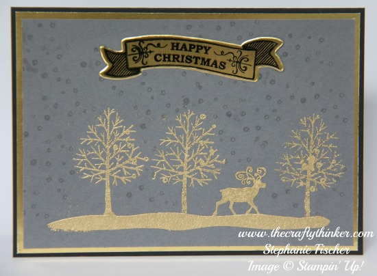 Stampin Up, #thecraftythinker, Totally Trees, Christmas Card, Xmas, Stampin Up Australia Demonstrator, NSW