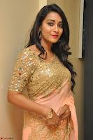 Bhanu Shri looks stunning in Beig Saree choli at Kalamandir Foundation 7th anniversary Celebrations ~  Actress Galleries 035.JPG