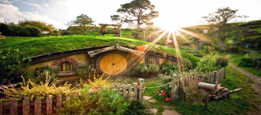 La aldea de los Hobbits