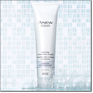 Anew Clean Comforting Cream Cleanser and Mask
