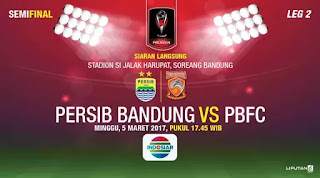 Dramatis! Persib Bandung Gagal ke Final Piala Presiden 2017