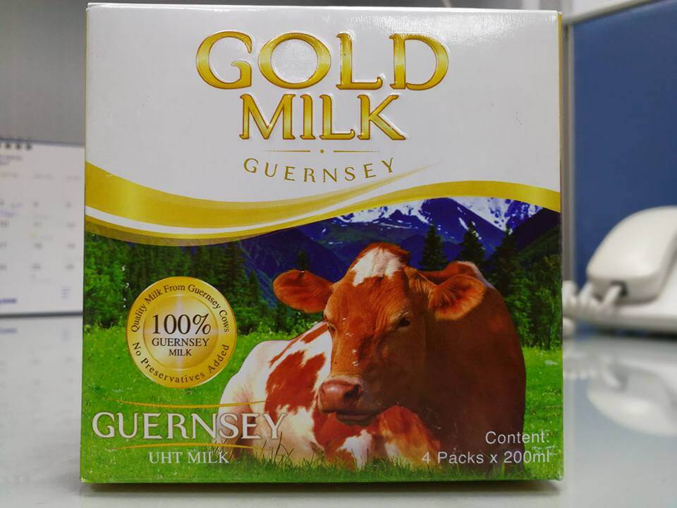 Gold Milk Guernsey