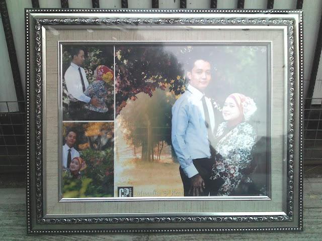 foto frame prewedding