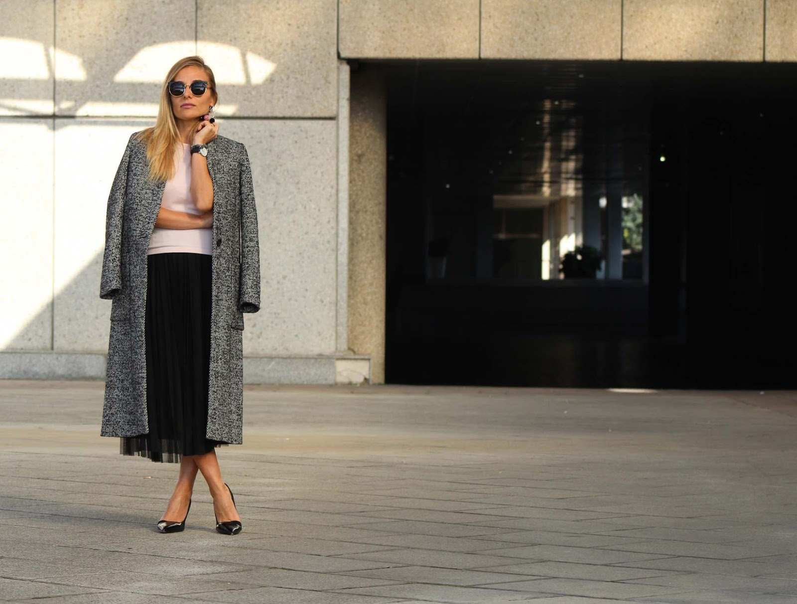Eniwhere Fashion - Tulle skirt outfit - SheIn