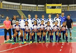 Equipes do Futsal inauguram as novas instalações de refletores de Led no ginásio poliesportivo municipal Mário Covas
