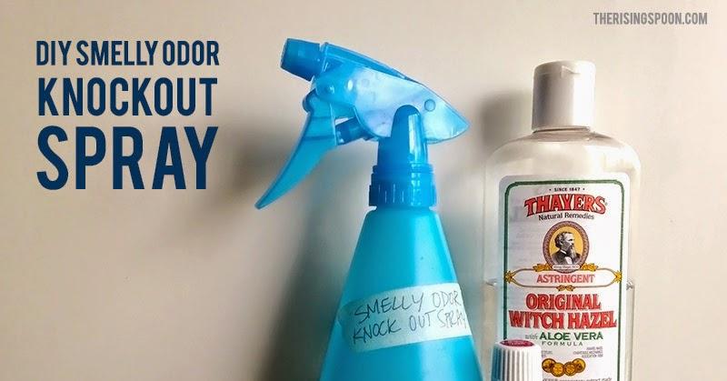 DIY Smelly Odor Knockout Spray with Essential Oils | The
