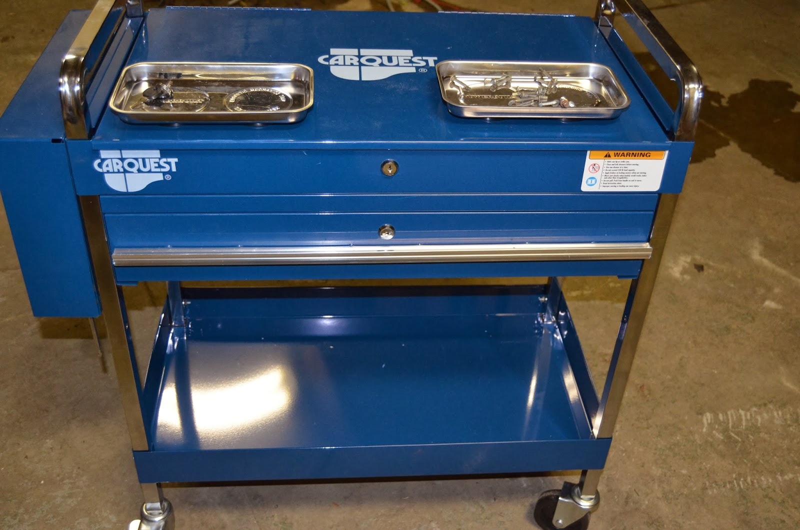 Poor Man Toolbox Carquest Work Cart Review