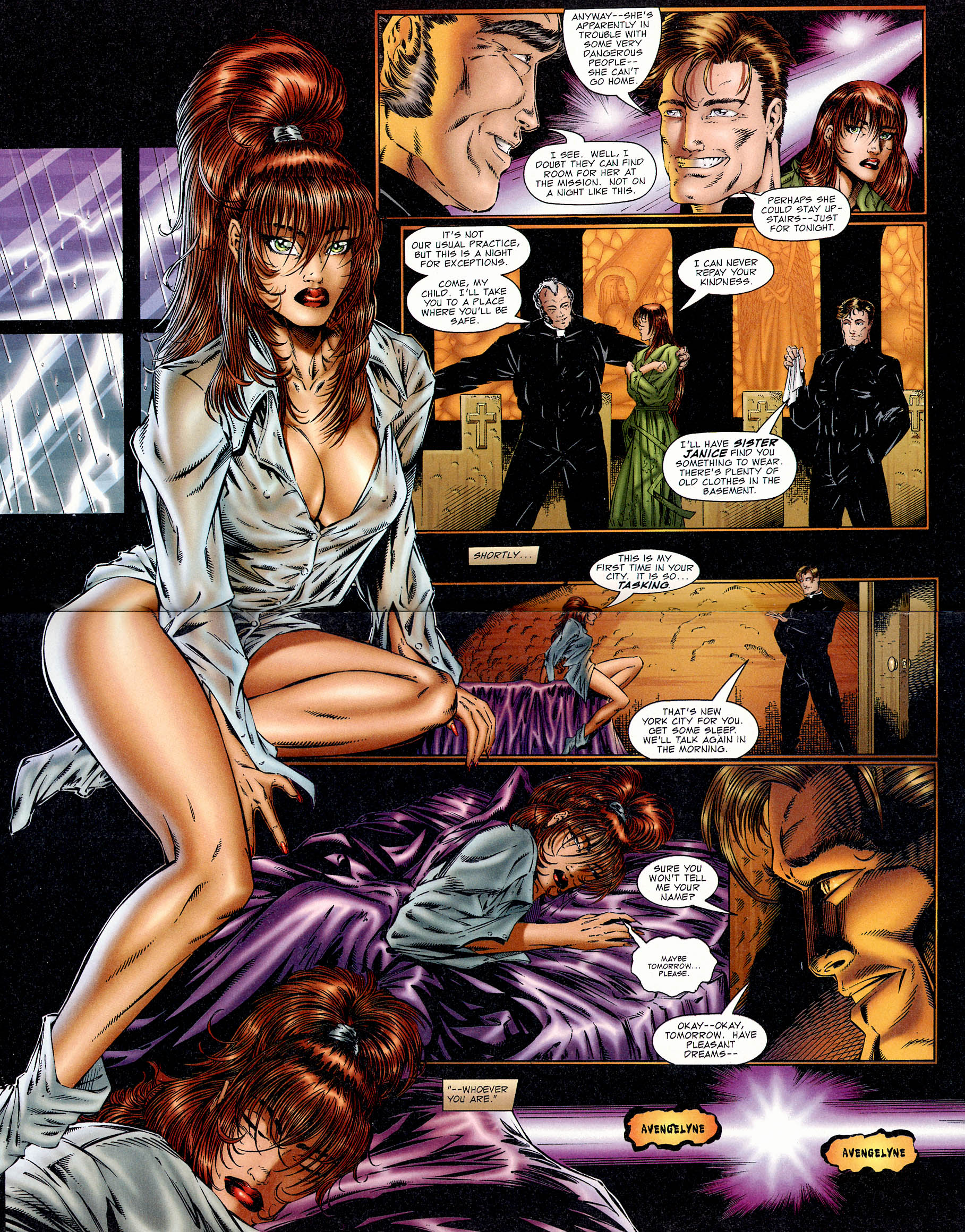 Read online Avengelyne (1995) comic -  Issue #1 - 10