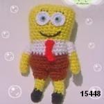 patron gratis bob esponja amigurumi, free amigurumi pattern bob esponja