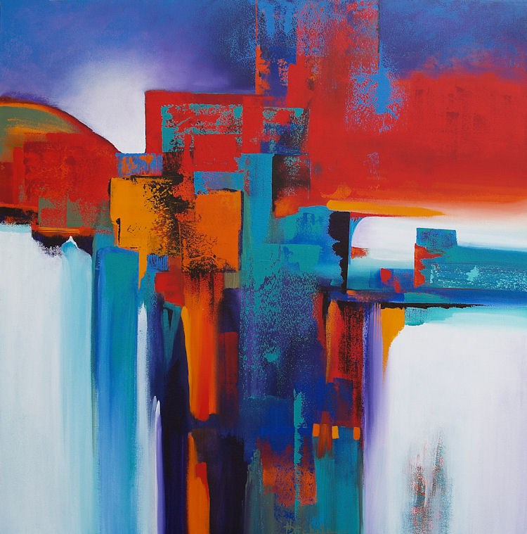 Abstract Artists International: Dissolve by Nancy Eckels ...