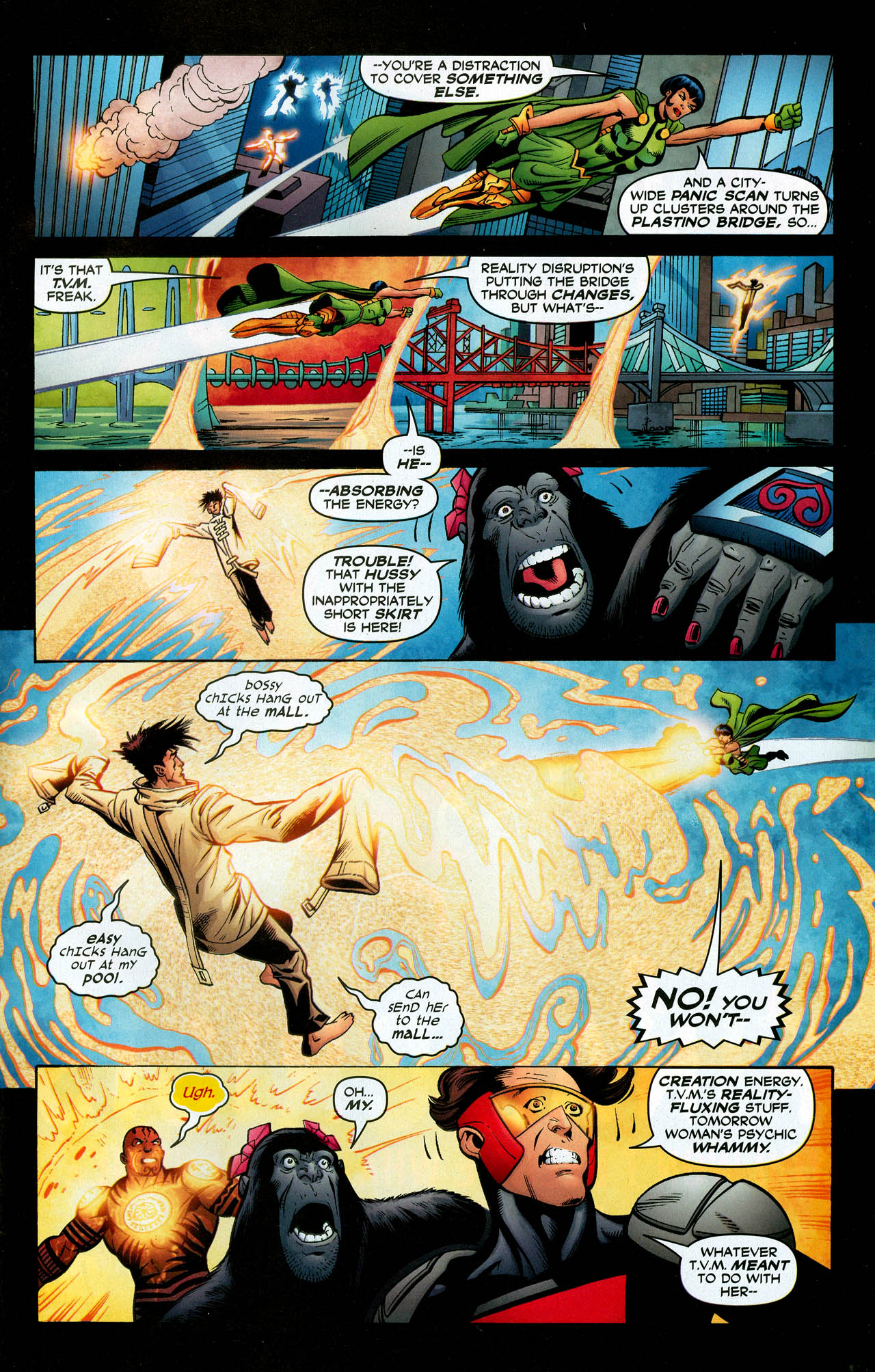 Read online Trinity (2008) comic -  Issue #28 - 33