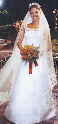 12 Grazi Massafera vestida de noiva