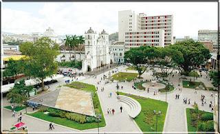 Parque Central Tegucigalpa