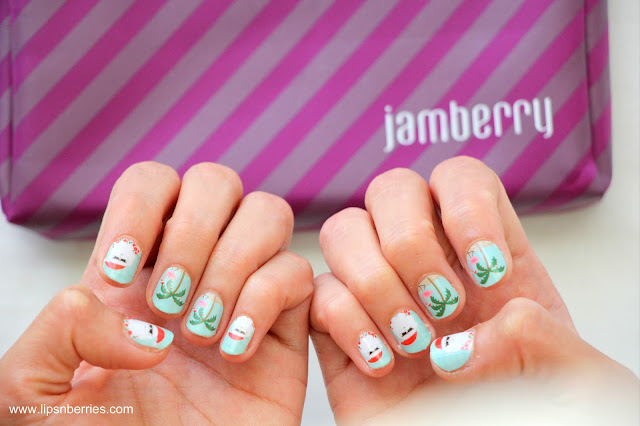 Jamberry nail wrap review