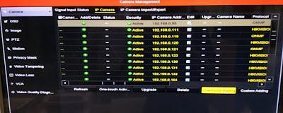 Cara menambahkan IP kamera di NVR hikvision