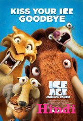 Ice Age: Collision Course (2016) BRRip Hindi Dubbbed 400MB