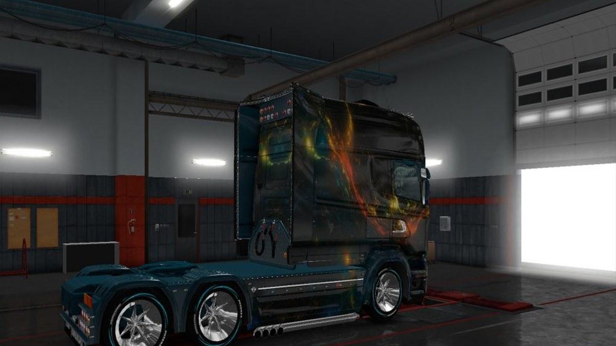 Kosmos Skin for Scania RJL V1