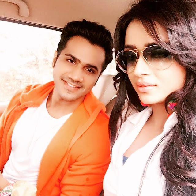 Parul with Chirag