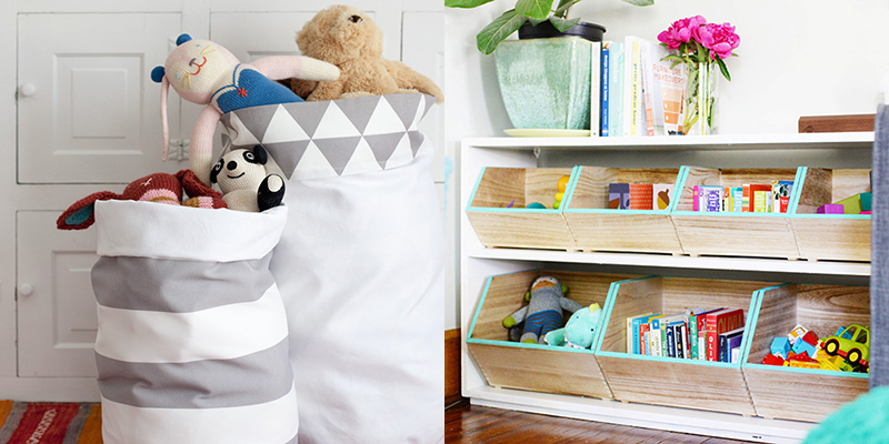 DIY to Try # Toy storage