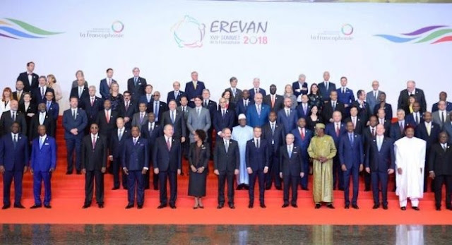 Albania's Prime and Kosovo's President attends 17th Francophonie Summit.