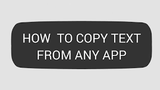copy text from any apk
