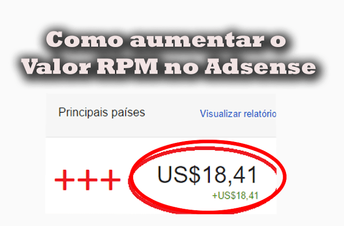 Como aumentar o valor RPM Adsense Top Dicas
