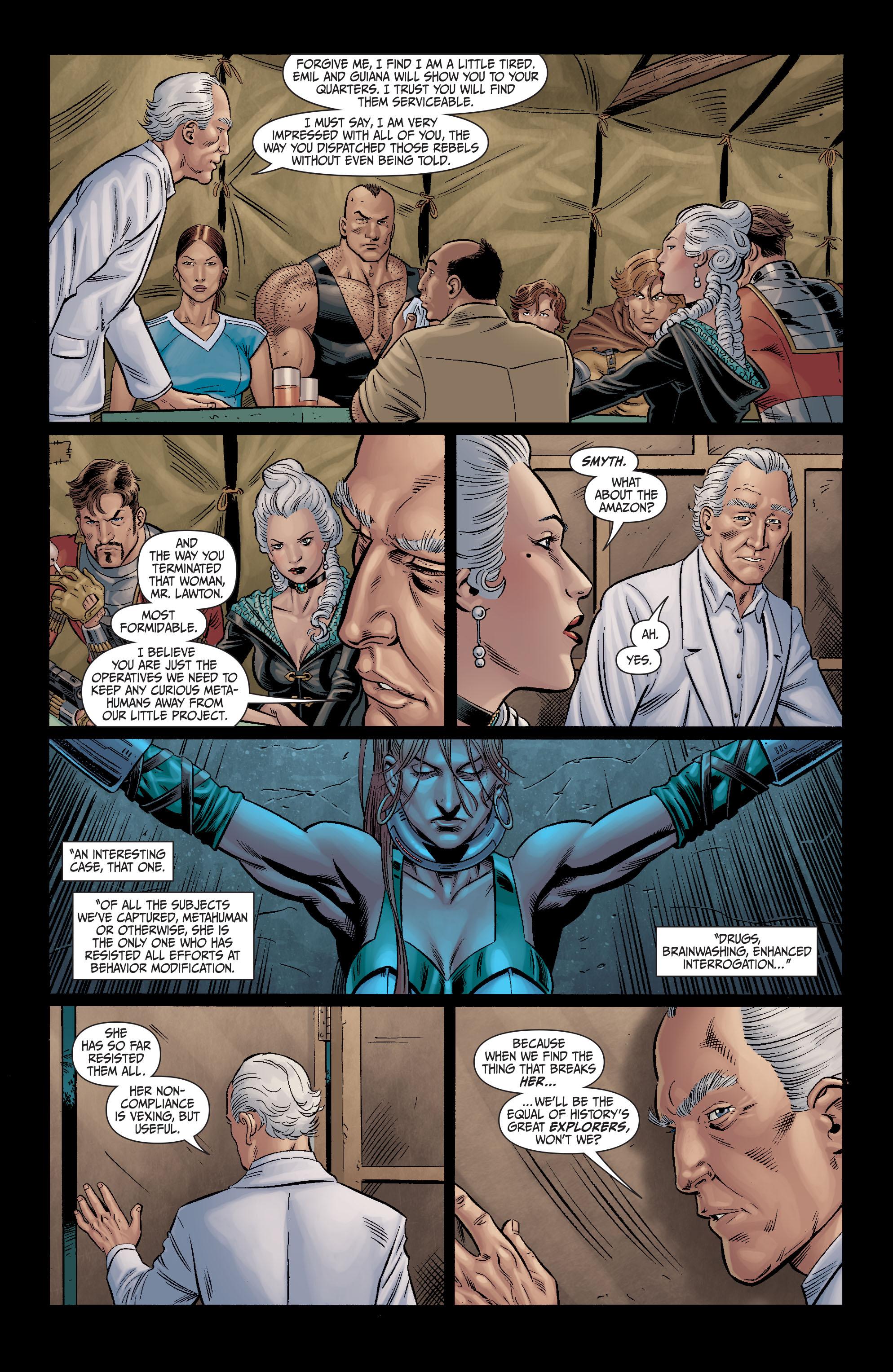 Read online Secret Six (2008) comic -  Issue #11 - 12