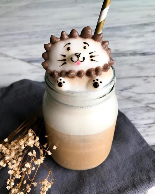 Kahve Köpüklerinden 3 Boyutlu Sanat Eserleri!