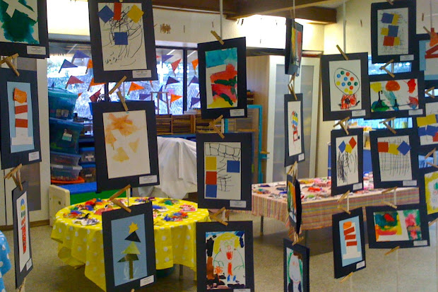 Student Art Show Display Ideas