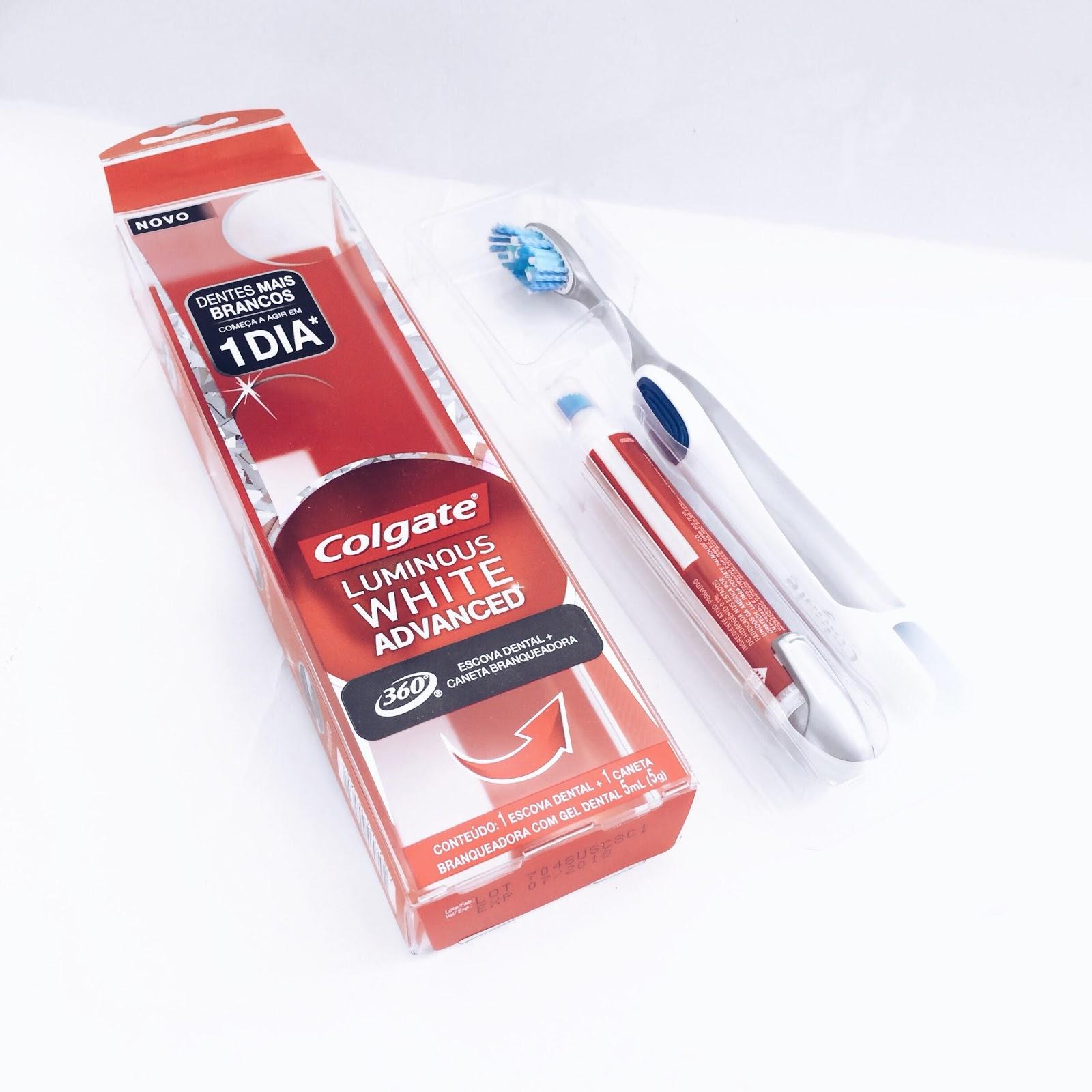 Clareamento Dental Com Colgate Luminous White Blog Da Nai