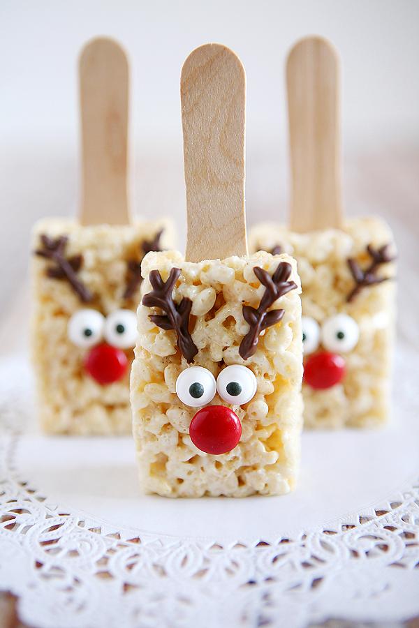 Reindeer Rice Krispie Treats Recipe
