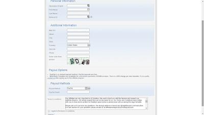 A2 Hosting Affiliate Program Signup Page