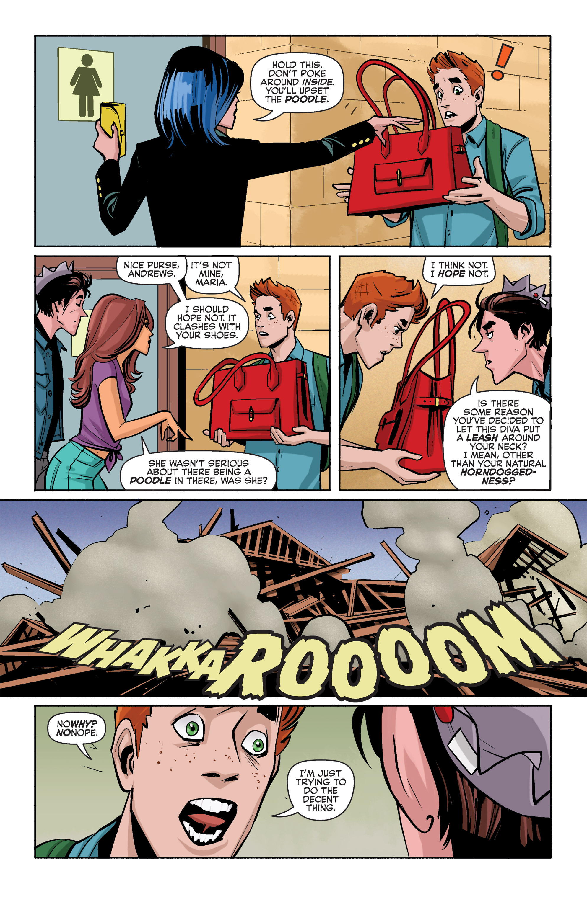 Read online Archie (2015) comic -  Issue #3 - 6