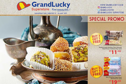 Katalog Promo Grand Lucky Superstore 15 - 26 Mei 2019