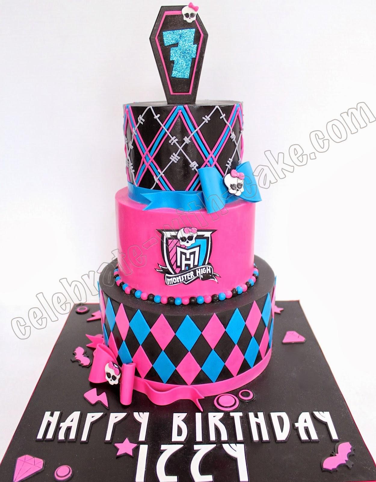 Monster High 3 Tier Cake