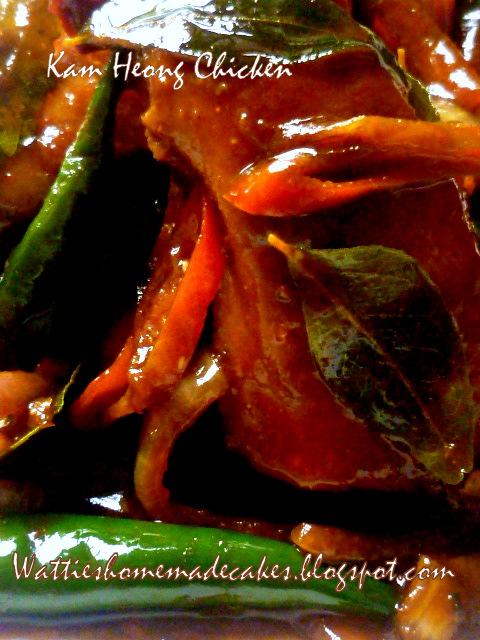 Wattie's HomeMade: Nasi Karrot & Kam Heong Chicken