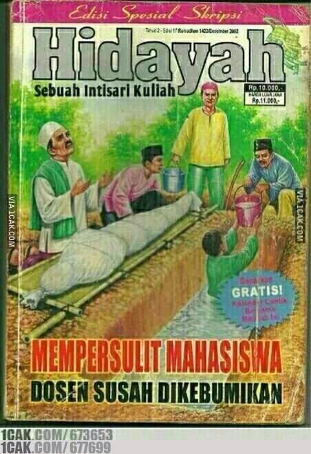 Meme Comic Majalah Hidayah