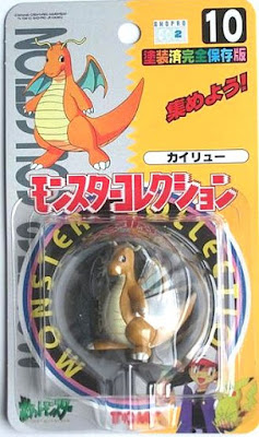 Dragonite figure Tomy Monster Collection series
