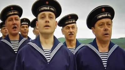 شاهد.. «أردوغان» يغني للأسطول الروسي