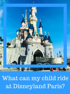 What can my child ride at Disneyland Paris? - Toddler - Young - under 1 2 3 4 5 - baby