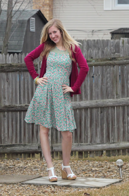 EShakti Spring Easter Dress review