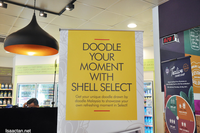 Doodle Your Moment with Shell Select