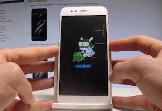 mode fastboot Xiaomi Mi A1