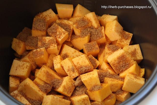 кокосовый сахар запеченная тыква рецепт
