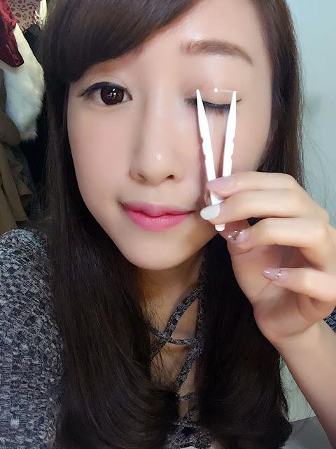 【雙眼皮貼推薦】新手必備的D-up雙眼皮貼~解決水腫眼皮!!