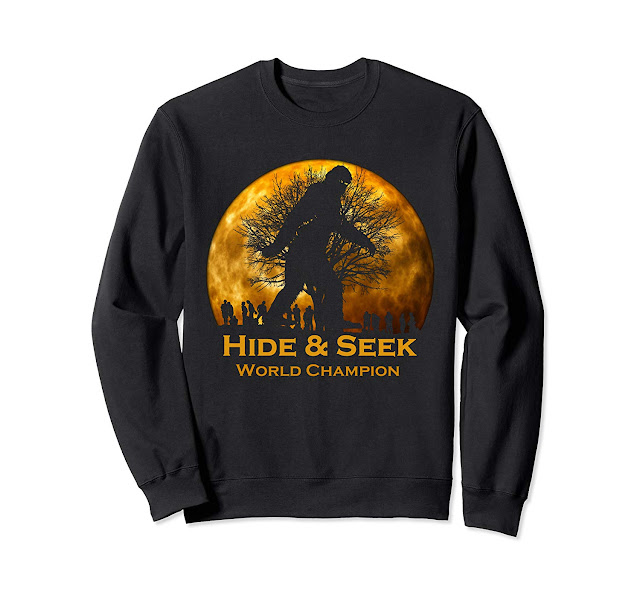 Reto Vintage Hide and Seek World Champion Bigfoot SweatShirt